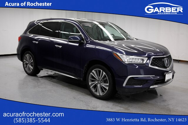 Pre-Owned 2017 Acura MDX 3.5L w/Technology Package