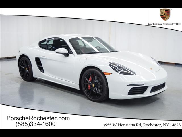 New 2017 Porsche 718 Cayman S