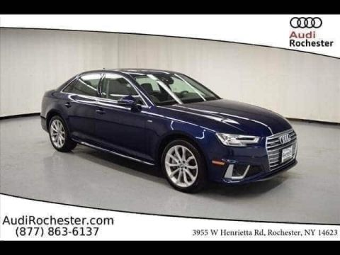 Pre-Owned 2019 Audi A4 2.0T Quattro Premium Plus Sedan