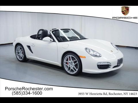 Certified Pre-Owned 2011 Porsche Boxster S